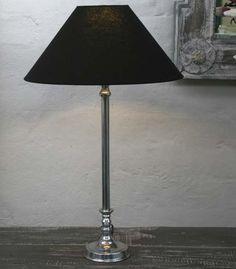 NADINE French Country Aluminium Lamp Base