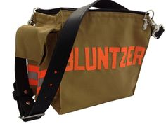 Personalized Bunker Gear Purse (Made from new Advance® Ripstop weave for the outer material and is lined with quilted material (the same material as bunker gear)  |  Shared by LION
