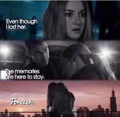 #fourtris<< but if you will remember her forever did you really lose her?
