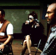 Marla Singer from Fight Club. Marla Singer, Singer One, Movie Gifs, Movie Tv, Fight Club 1999, Chungking Express, Smoking Is Bad, Helena Bonham Carter, Film Stills
