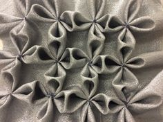 Thildes experiment with metallic fabric