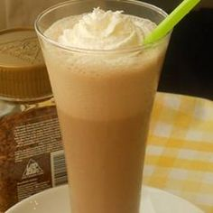Coffee Shake Recipe Beverages with coffee granules, milk, vanilla extract, white sugar, ice cubes, chocolate syrup