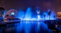 'Tis the season to enjoy a breathtaking special effects extravaganza at World of Color - Winter Dreams! Disney California Adventure, Disneyland Resort, World Of Color, Magic Kingdom, My Happy Place, Disney Parks, Marina Bay Sands, Fireworks, Special Events
