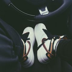 Pin for Later: The 15 Most Amazing Things You Can Buy From Kylie Jenner's eBay Closet Kylie shared a snap of herself behind the wheel, rocking her multicolor Nike high-tops.