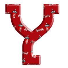 Sussurro de Amor: Alfabeto Coca cola Alphabet And Numbers, Alphabet Letters, Coke, Drinks, Christmas, Coca Cola Products, Hush Hush, Necklaces, Amor