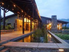 entrée du Nyungwe Forest Lodge, Rwanda