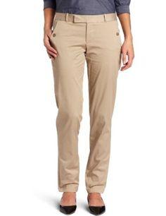 Dockers Women's Alpha Clean Khaki Pant, Beachwood, 8 Dockers. $25.00