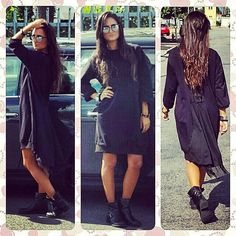 Outfit black and lace dress by Wendy Trendy
