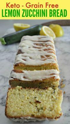 Keto lemon zucchini bread - replace the Xantham Gum with a tsp of chia? Keto lemon zucchini bread - replace the Xantham Gum with a tsp of chia? Lemon Zucchini Loaf, Lemon Bread, Zucchini Bread Recipes, Lemon Loaf, Zucchini Muffins, Lemon Slice, Garlic Bread, Vegan Keto, Paleo Diet