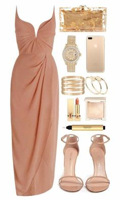 A fashion look from October 2016 featuring zimmermann dress, patent leather shoes and man bag. Browse and shop related looks. Evening Outfits, Night Outfits, Classy Outfits, Stylish Outfits, Evening Dresses, Elegant Dresses, Pretty Dresses, Beautiful Dresses, Formal Dresses