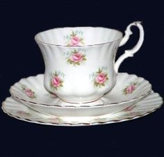 royal albert forget me not rose--one of the sweetest patterns ever
