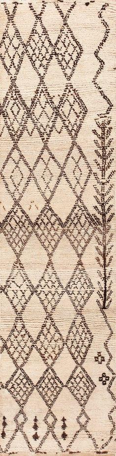 beni ourain berber moroccan runner rug main image by nazmiyal http
