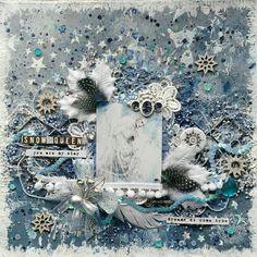 """B-arte : MI LO """" SNOW QUEEN""""  DT SCRAP ÁFRICA"""