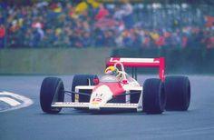 f1 Ayrton Senna, Silverstone 1988