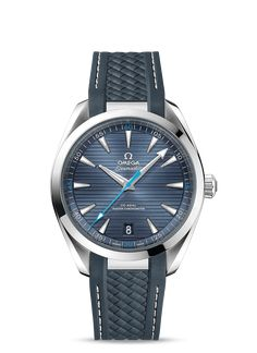 Omega Seamaster AQUA TERRA 150M CO-AXIAL MASTER CHRONOMETER 41 MM Steel on rubber strap 220.12.41.21.03.002