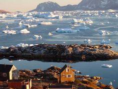 En dag skal turen gå til Grønland, som jeg elskede som barn. Narsarsuaq, Arsuk og Grønnedal