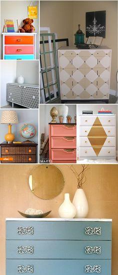 Diy dresser makeover ideas.