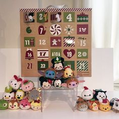 Advent Calendar Tsum Tsum Set - Includes 25 mini Tsum Tsums!