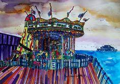 Brighton Carousel by Ann Marie Whitton 2012
