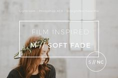 VSCOCam M5 inspired Lightroom Preset by Straight, No Chaser Shop on @creativemarket