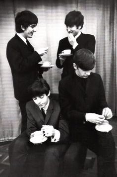 Of course The Beatles loved a cuppa now and then.