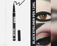 Eyes ADS Blackest Black  *Product Name* ADS Blackest Black     *Brand Name* ADS     *Product  Type* Eyeliner     *Package Contains* It Has 1 Pack of Eyeliner  *Sizes Available* Free Size *   Catalog Rating: ★4 (2315)  Catalog Name: make up Premium Choice Eye Makeup kit Vol 1 CatalogID_171454 C51-SC1242 Code: 631-1335668-991