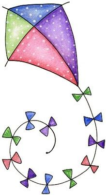 """Let's go fly a kite - Laurie Furnell - """"Birds of a feather"""" Go Fly A Kite, Clip Art, Cute Clipart, Applique Patterns, Watercolor Cards, Easy Drawings, Rock Art, Painted Rocks, Drake"""