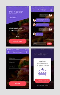 Interesting Bubble chat and headers Mobile Application Design, Mobile Ui Design, Ios App Design, User Interface Design, Ios Ui, Smartphone, Ui Design Inspiration, Android, Interactive Design