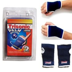 2 Wrist Hand Brace Elastic Palm Support Carpal Tunnel Tendonitis Pain Relief New, Blue Wrist Pain, Wrist Brace, Health And Wellness, Health And Beauty, Arthritis Gloves, Carpal Tunnel Syndrome, Living Essentials, Perfect Curls