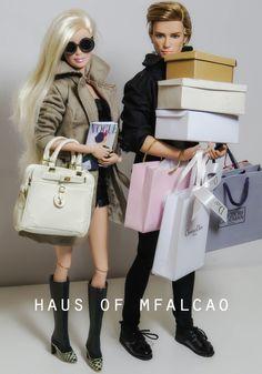 Barbie and Ken // Haus of Mfalcao