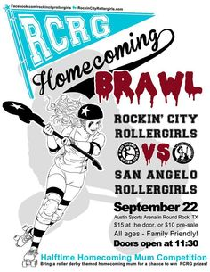 RCRG vs. San Angelo Rollergirls on Sept. 22 in Round Rock.