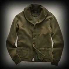 RRL メンズ ジャケット ダブルアールエル Fleece Shawl Cardigan ジャケット-アバクロ 通販 ショップ-【I.T.SHOP】