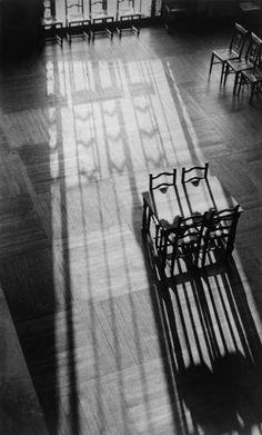 Library Chairs, Paris by André Kertész