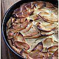 Gâteau très pomme à la ricotta de carole