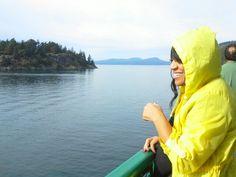 Ferry ride Anacortes to Orcas Isl