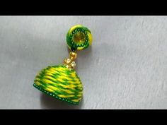 Silk Thread Earrings Designs, Silk Thread Bangles Design, Thread Jewellery, Diy Jewellery, Crochet Jewelry Patterns, How To Make Tassels, Quilling Jewelry, Long Tassel Earrings, Bird Crafts