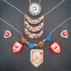 Summer necklaces! Have fun in the sun! :)
