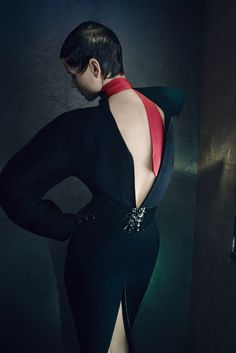 Saskia de Brauw by Palo Roversi for Vogue Italia July 2014