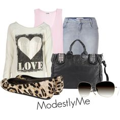 Untitled #122, created by modestlyme on Polyvore