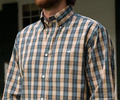 The Exchange Check - Wrinkle Free – Southern Marsh Collection
