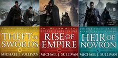 The Riyria Revelations by Michael J. Sullivan: The Riyria Revelations follows two unlikely heroes. The heroes are accused of regicide in the opening pages, and they spend the rest of the books in over their heads as they try to clear their names. Unfortunately, they have their hands full, because they're going to need to solve the mystery of the king's death and battle against evil wizards all at the same time.