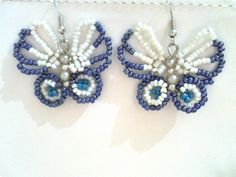 Beaded Earrings.. these are cool