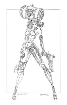 Harley Quinn V1 by jamietyndall.deviantart.com on @DeviantArt