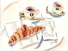 Petit Dejeuner in Paris   By Paris Breakfast (Carol Gillott )