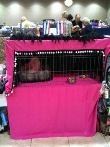 Show Cat Cage Curtains - Purrelli Persians & Exotics