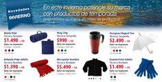 En este invierno potencie su marca con productos de temporada. Visite nuestro sitio web www.kelsopro.com