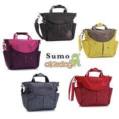 Weekend Giveaway: Sumo Diaper Bag from Okiedog (4 Winners)