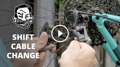 Today, we're going to learn how to change a gear cable. There are many reasons why you would do this. Gear cables wear out, get kinked, and stop working sm #howtorepairbike #bicyclerepair