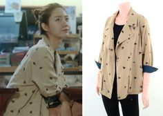 "Han Groo 한그루 in ""Marriage, Not Dating"" Episode 5.  G-Cut Embroidered Jacket #Kdrama #MarriageNotDating 연애말고결혼 #HanGroo"