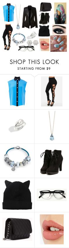 """everyday outfit 6 :)"" by angel-armitage ❤ liked on Polyvore featuring FAUSTO PUGLISI, Pomellato, Bling Jewelry, Monki, Max Factor, Forever 21, Oscar Heyman, Charlotte Tilbury and Alexandre Vauthier"